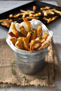 Parmesan Thyme Bread Crust Snacks. Ready in 10 minutes. (Good way to use up bread cut offs and heels)