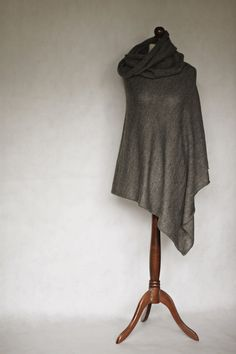 Hey, I found this really awesome Etsy listing at https://www.etsy.com/listing/209678662/merino-poncho-knit-poncho-wool-poncho