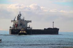 Spirit of Ho Ping Bulk Carrier, IMO: 9433638, MMSI: 372264000 Leaving the Port of Newcastle New South Wales Asutralia #SpiritofHoPing #HoPing #BulkCarrier #Ship #CargoShip