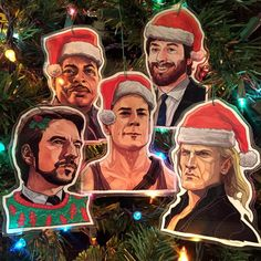 Geektastic Christmas Cards and Ornaments From Your Favorite Pop Culture Franchises! (Star Wars, Aliens, GOT, Etc. Die Hard Christmas, Christmas Tree Lots, Christmas Ornament Sets, Christmas Movies, Christmas Sled, Thundercats Movie, Culture Pop, Star Wars, New Gods