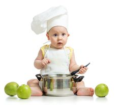 Starting your baby on solid foods.