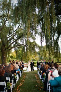kemper lakes golf course wedding ceremony