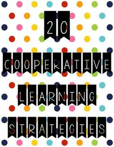 This file contains twenty Kagan cooperative learning strategies that you can use… Cooperative Learning Strategies, Teaching Strategies, Teaching Tips, Cooperative Games, Brain Based Learning, Whole Brain Teaching, Teal Green, Pink Yellow, Kagen Strategies