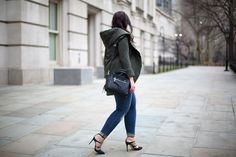 Seen on Effortlessly with Roxy :: Anthropologie Quilted Cozy Jacket, Free People Seville Vegan Satchel.  Get all the details on the site!