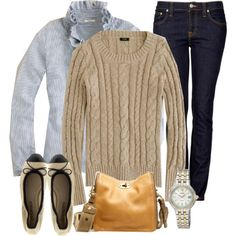 Love cable-knit.