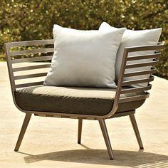 gloster vista armchair | outdoor furniture | gloster