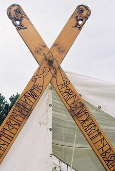 viking tent curving poles