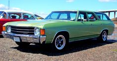 1972 Chevy Chevelle station wagon