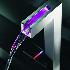 Temperature Sensitive LED Faucet by Hansa