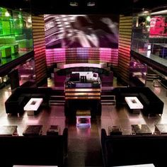 Paris, France - VIP Room