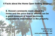 8 facts about the home open selling strategy #8