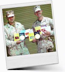 Coming Soon: Visit http://www.giftcardweek.com starting in June and send a gift card to someone in the military to show your appreciation. Or buy one to be included in an Operation Gratitude care package that is sent to a service member or military family.