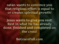 As soon as I saw that MORE was Never enough His Grace became Sufficient for me!  BeGraceFull.com