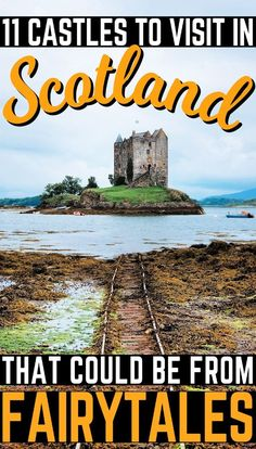 Scotland that simply ooze history. These 11 Scottish castles will make for a great day out during your Scotland vacation!in Scotland that simply ooze history. These 11 Scottish castles will make for a great day out during your Scotland vacation! English Castles, Scottish Castles, Scotland Vacation, Scotland Travel, Scotland Trip, Highlands Scotland, Skye Scotland, Places To Travel, Travel Destinations