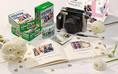 Buy Fujifilm Instax 300 Wedding Pack with Instant Camera, 60 Shots, Photo Mounts, Wedding Guest Book & Pen from our Cameras range at John Lewis & Partners. Fujifilm Instax, Polaroid Instax, Fuji Instax, Instax Wide, Photo Guest Book, Guest Books, Polaroid Pictures, Polaroids, Do It Yourself Wedding