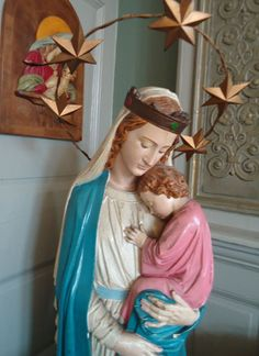 Madonna & Child, holy relic