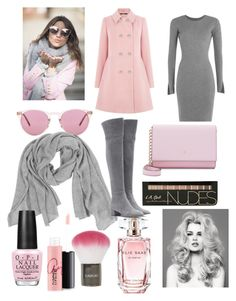"""Untitled #359"" by d-ioana-alexandra on Polyvore featuring Oasis, Oliver Peoples, Samantha Holmes, Alexander Wang, Gianvito Rossi, Kate Spade, Elie Saab, Topshop, MAC Cosmetics and OPI"