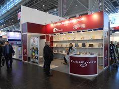 A+A - Düsseldorf: TOSIMPRESA. Ricerca, analisi, promozione e comunicazione. Progettazione e realizzazione dell'allestimento dello stand. Photo by honegger