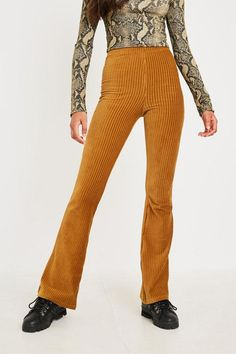 f51449a09623 Size M Velvet Flare Pants