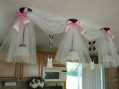 Could be cute for a baby shower...minus the lingerie!