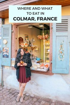 Where and what to eat in Colmar, France: the cutest town in the Alsace region