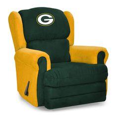 Green Bay Packers Armchair Coach Recliner