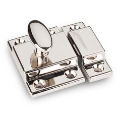 Hardware Resources - Jeffrey Alexander Latches Cabinet Hardware - Cabinet Latch in Polished Nickel