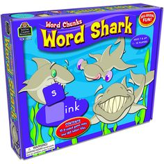 WORD SHARK WORD CHUNKS GAME