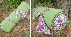 Idée créative : le futon matelassé et le traversin couture