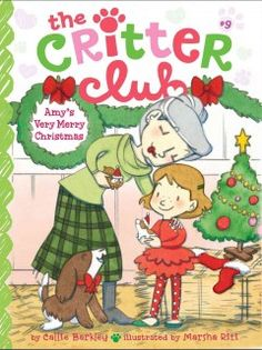 J SERIES CRITTER CLUB. It's holiday time in Santa Vista, and Amy is especially excited for Christmas. Her dad, stepmom and stepsister are visiting, plus, there are some adorable guinea pigs at the Critter Club. But amidst the hustle and bustle of Christmas preparations, Amy notices that Ms. Sullivan seems a little lonely. Though Ms. Sullivan assures Amy that she will have a lovely holiday with her dog Rufus, Amy begins to wonder if there's something she can do to cheer up Ms. Sullivan.