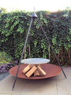 Bonfire BBQ Driepoot XL Set, Deze Deense BBQ biedt alle mogelijkheden om een…