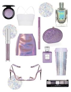 """""""Mermaid skin 💜"""" by glamjournal ❤ liked on Polyvore featuring Essie, Roberto Cavalli, Theory, Dolli, Bella Bellissima, Miss Selfridge, Too Faced Cosmetics, MAC Cosmetics and NYX"""
