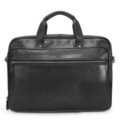 Buy online #MENS #BLACK LEATHER #officebag @ voganow.com for Rs.9,999/-