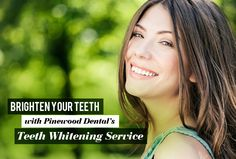 To get permanent teeth whitening, contact Pinewood Dental. We bleach your teeth without bonding material to brighten your teeth and so that you can achieve healthy & confident smile. http://pinewooddental.com/services/cosmetic-dentistry/teeth-whitening/