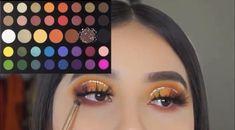 Smoke Eye Makeup, Eye Makeup Steps, Makeup Eye Looks, Eye Makeup Art, Crazy Makeup, Creative Eye Makeup, Colorful Eye Makeup, Makeup Morphe, Makeup Pictorial