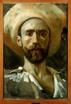 desimonewayland:  Self portrait, Paolo Francesco Michetti Museo Nazionale di Capodimonte - Naples