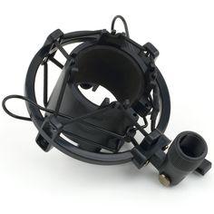 1Pcs Universal Mic Microphone Shock Mount Clip Holder Studio Sound Recording //Price: $9.95      #shopping