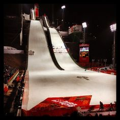 In just 20 minutes, women will make their historic first Olympic  competition ski jumps! #olympics #sochi2014 #Padgram