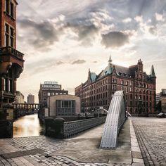 Golden hour #Hamburg #Speicherstadt by tomtehh