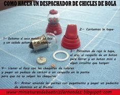 Miniaturas de Beatriz Fernandez: Gum ball machine - Spanish