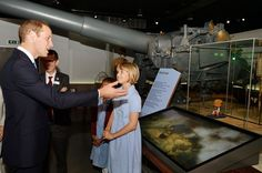 Prince William opens the Imperial War Museum's new WW1 galleries