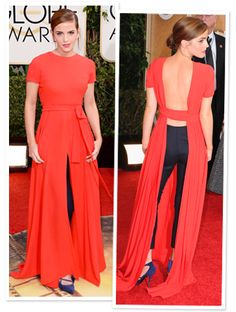 Emma Watson on Her Head-Turning Dior Gown with Trousers: It Felt Original. It Felt a Bit Different #InStyle