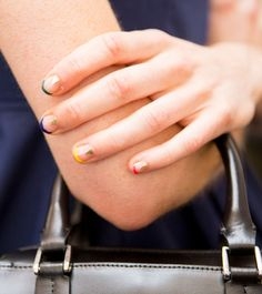 The 33 best nail inspiration pics from fashion month nude nails best nail inspo from spring 2017 fashion month stylecaster sciox Images