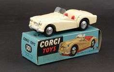 Mettoy Corgi Toys No.301 Triumph TR2 Sports Car 1956-61