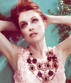 Julianne Moore - did you know that Red Heads get more attention than any other hair color !