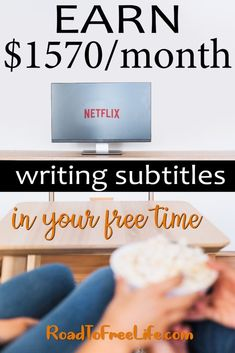 Earn Money Online Writing Subtitles in your free time Earn Money Online Writing Subtitles in your free time,Earn money right from your pc. Earn Money Online Writing Subtitles in your free time Ways To Earn Money, Earn Money From Home, Make Money Fast, Money Tips, Money Saving Tips, How Earn Money Online, Online Earning, Make Easy Money Online, Earn Free Money