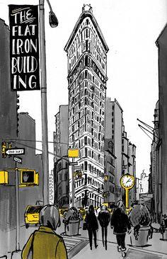El único color que vimos en Nueva York fue el amarillo...