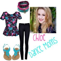 """Dance Moms- Chloe's Casual Look!"" by ashley-chic on Polyvore"