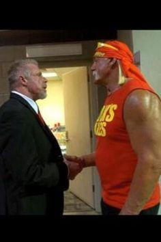 Ultimate Warrior Hogan Feud