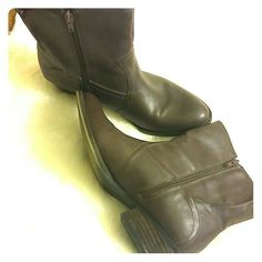 Rustic  Nine West boots Great condition. Vintage American line. Vegan and super comfy. Don't miss out. Nine West Shoes Ankle Boots & Booties